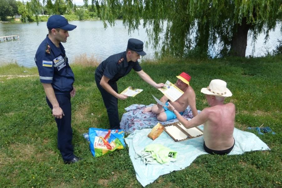 Поліція закликає прикарпатців дбати про власну безпеку під час відпочинку на воді